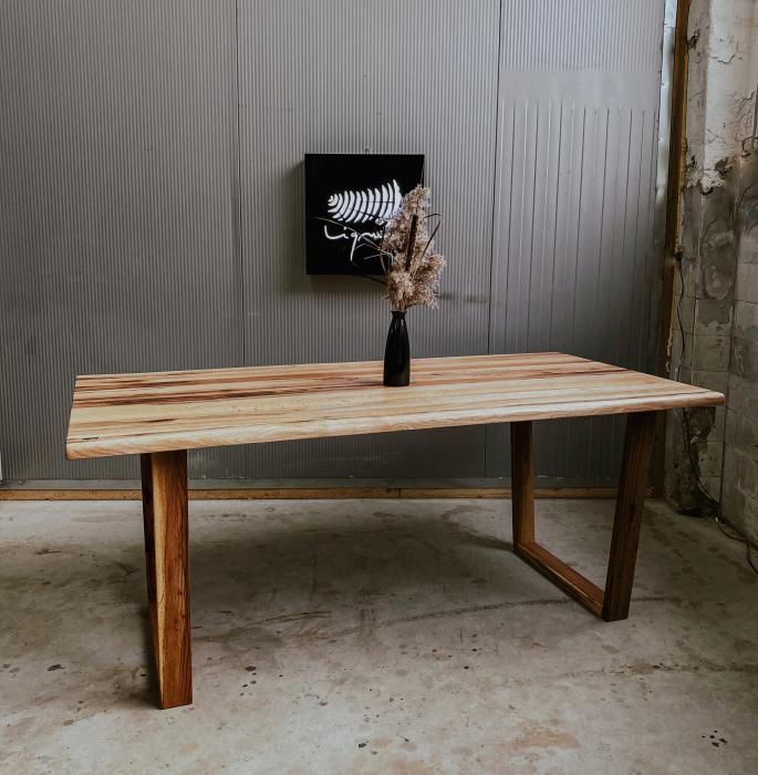 Masa dining lemn masiv 2