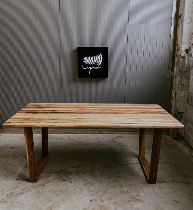 Masa dining lemn masiv 1
