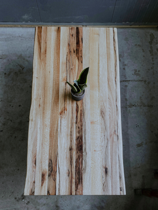 Masa dining lemn masiv 5