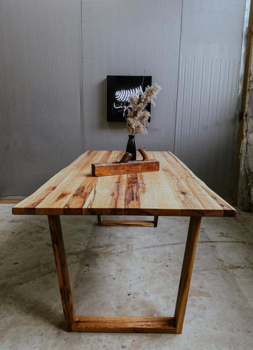 Masa dining lemn masiv 0