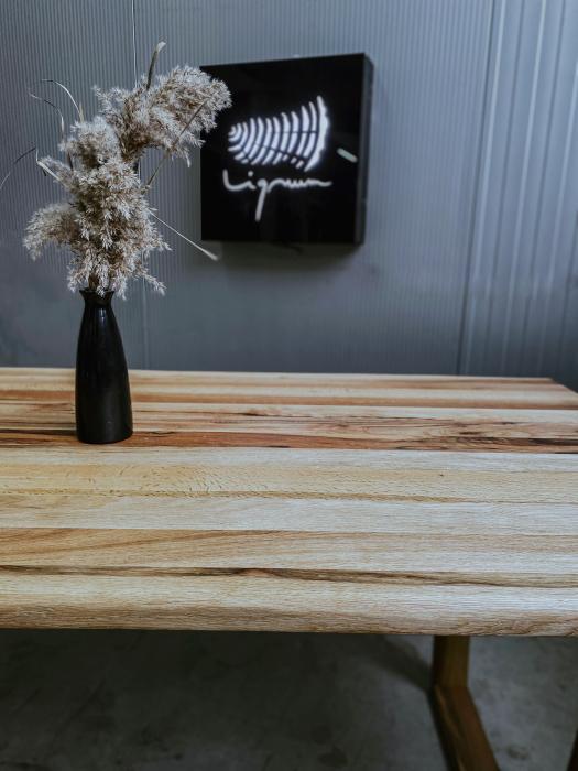 Masa dining lemn masiv 6
