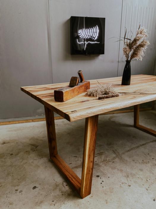 Masa dining lemn masiv 7