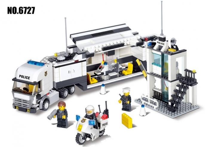 Set 511 piese de construit Centru de comanda mobil 0