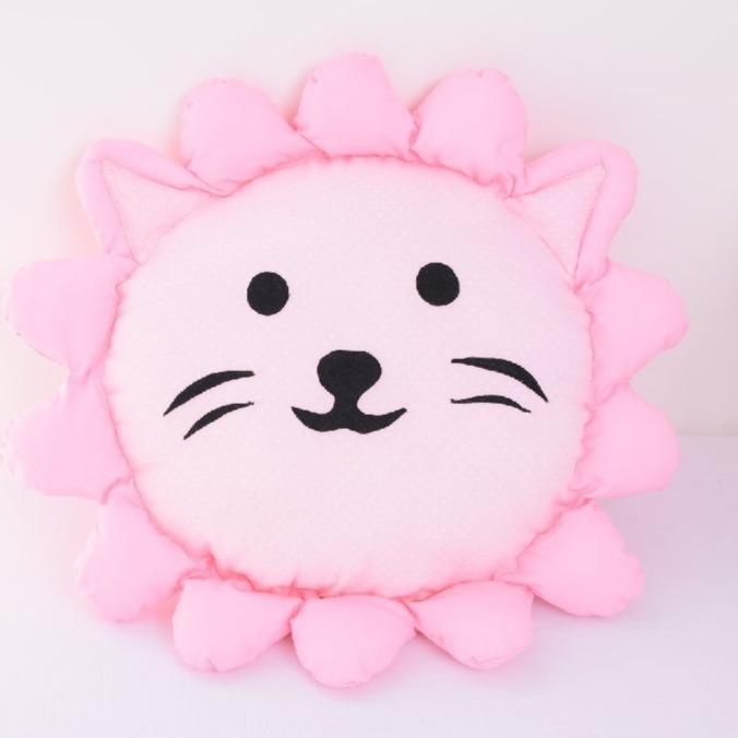 Perna decorativa leul Lulu pink 0