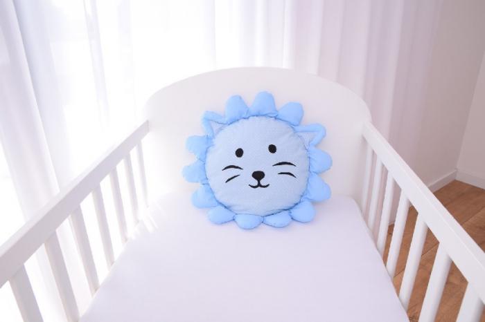 Perna decorativa leul Lulu blue 1