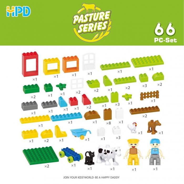 Set 66 piese Jucarii de Plastic din seria Supermarket 2