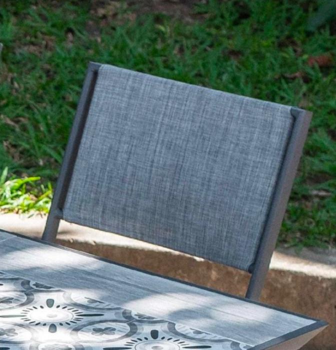Set masă grădină și scaune 7 piese Rimini [2]