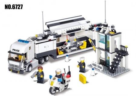 Set 511 piese de construit Centru de comanda mobil0