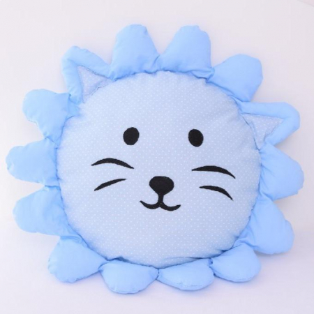 Perna decorativa leul Lulu blue0