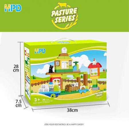 Set 66 piese Jucarii de Plastic din seria Supermarket1