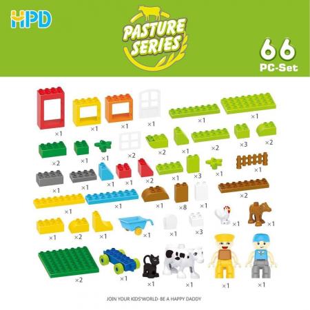 Set 66 piese Jucarii de Plastic din seria Supermarket2