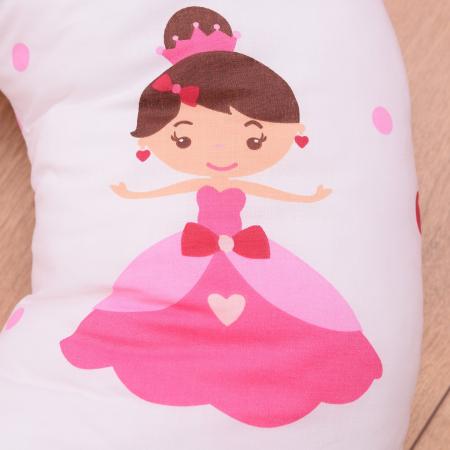 Perna de alaptare bebelusi din bumbac 100% Princess2