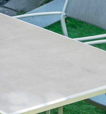 Set masă grădină și scaune 7 piese Vulkan [2]