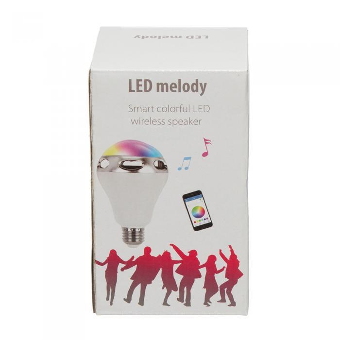 Bec Inteligent Multicolor cu difuzor si Smartphone Control prin Bluetooth 1