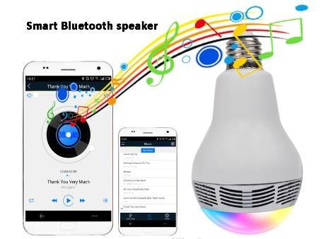 Bec Inteligent Multicolor cu difuzor si Smartphone Control prin Bluetooth 2