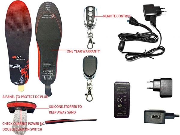 Branturi Incalzite Electric cu telecomanda - marimea 41-46 1