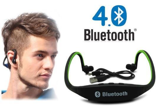Casti Bluetooth Sport cu microfon 3
