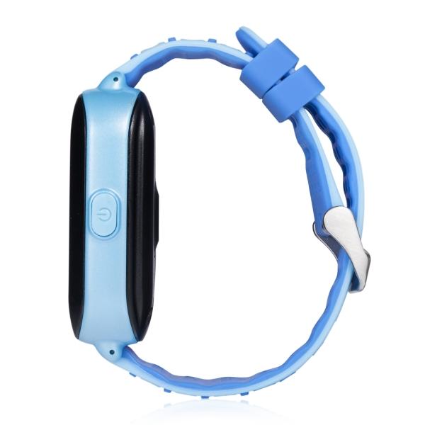 Ceas Inteligent cu GPS pentru copii WONLEX KT02 3G Albastru, rezistent la apa, localizare WiFI si monitorizare spion 2