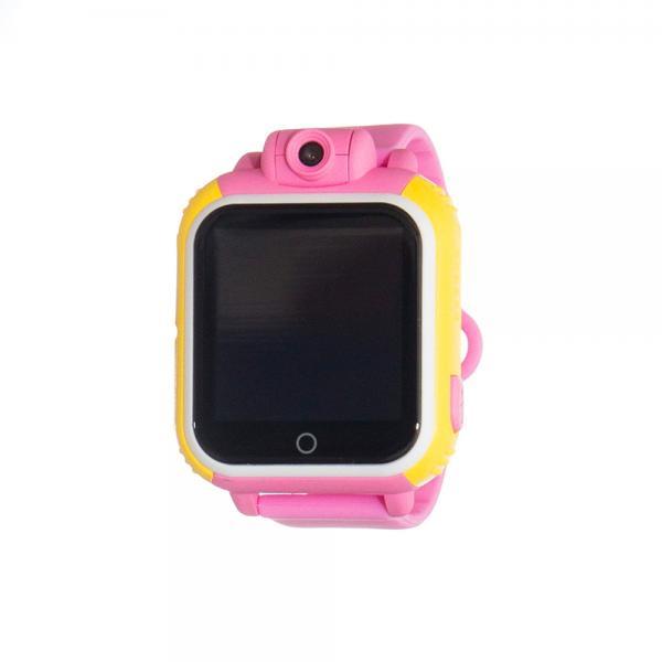 Ceas inteligent pentru copii WONLEX GW1000 3G Roz (Digi) cu GPS, telefon, localizare Wifi si monitorizare spion 0
