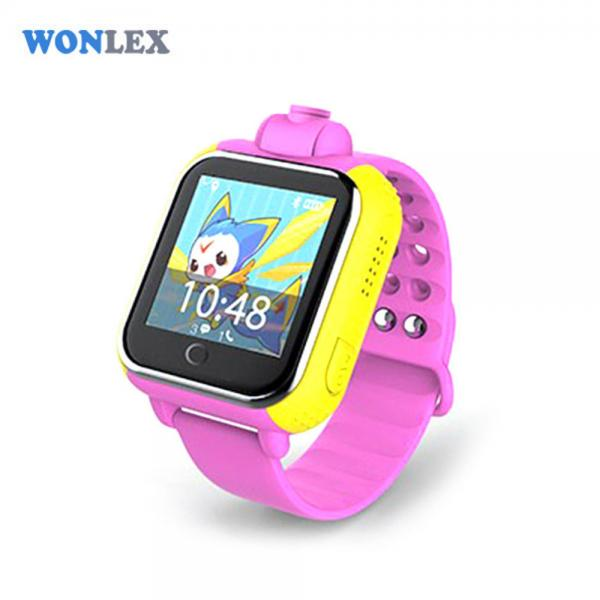 Ceas inteligent pentru copii WONLEX GW1000 3G Roz (Digi) cu GPS, telefon, localizare Wifi si monitorizare spion 3