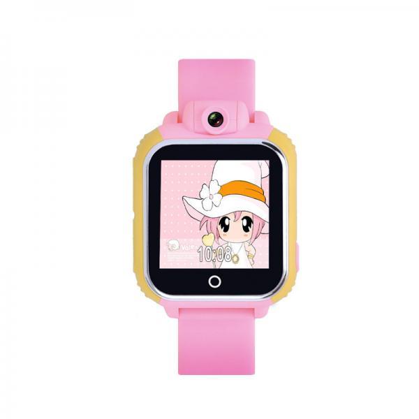 Ceas inteligent pentru copii WONLEX GW1000 3G Roz (Digi) cu GPS, telefon, localizare Wifi si monitorizare spion 2