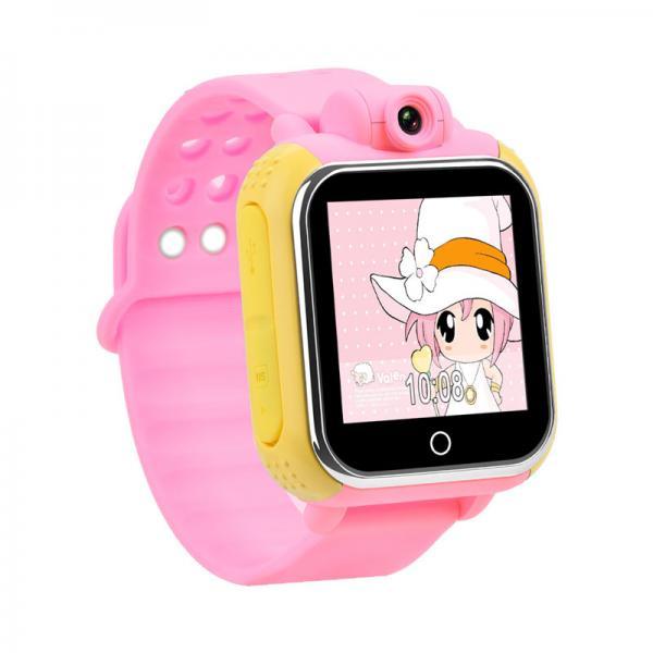 Ceas inteligent pentru copii WONLEX GW1000 3G Roz (Digi) cu GPS, telefon, localizare Wifi si monitorizare spion 1