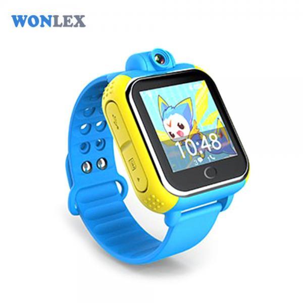 Ceas inteligent pentru copii WONLEX GW1000 3G Albastru (Digi) cu GPS, telefon localizare WiFi si monitorizare spion 1