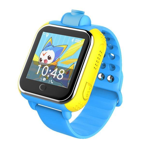 Ceas inteligent pentru copii WONLEX GW1000 3G Albastru (Digi) cu GPS, telefon localizare WiFi si monitorizare spion 2