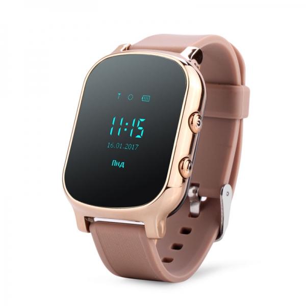 Ceas inteligent pentru copii cu telefon si localizare GPS GW 700 Gold 0