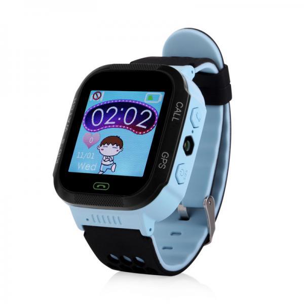 Ceas inteligent pentru copii WONLEX GW500S Albastru cu GPS, telefon si monitorizare spion 0