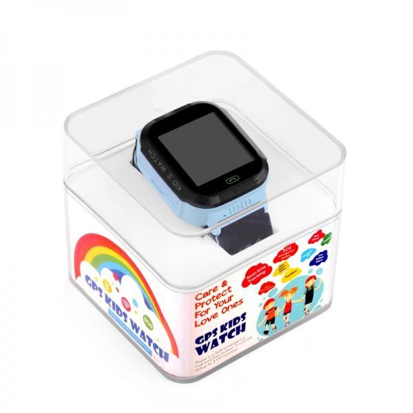 Ceas inteligent pentru copii WONLEX GW500S Albastru cu GPS, telefon si monitorizare spion 4