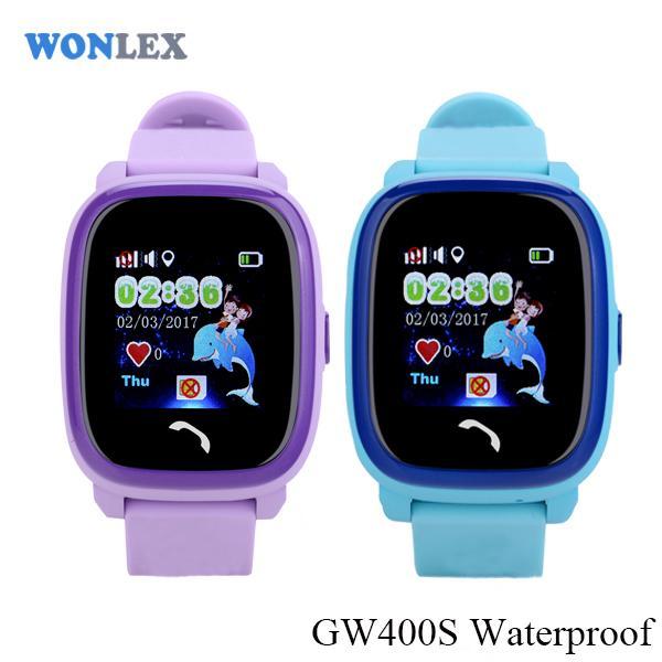 Ceas inteligent pentru copii WONLEX GW400S Albastru cu GPS, rezistent la apa, localizare WiFI si monitorizare spion 5