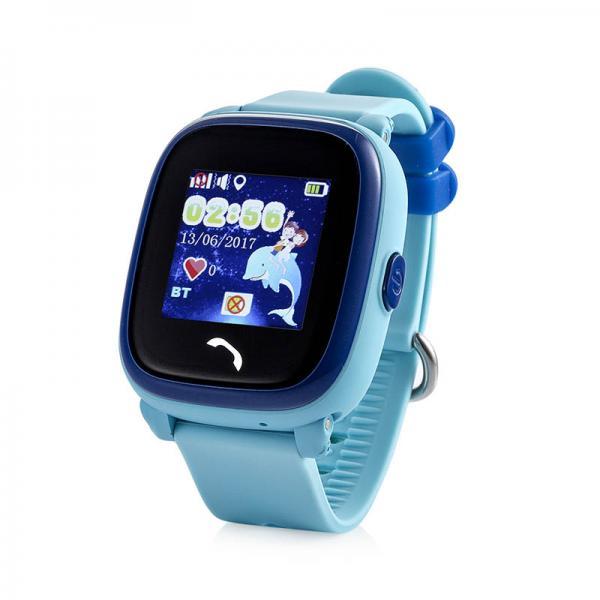 Ceas inteligent pentru copii WONLEX GW400S Albastru cu GPS, rezistent la apa, localizare WiFI si monitorizare spion 0