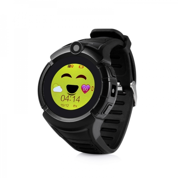 ceas-inteligent-pentru-copii-gw600-negru-cu-telefon-localizare-gps-wifi-ecran-touchscreen-color-monitorizare-spion 0