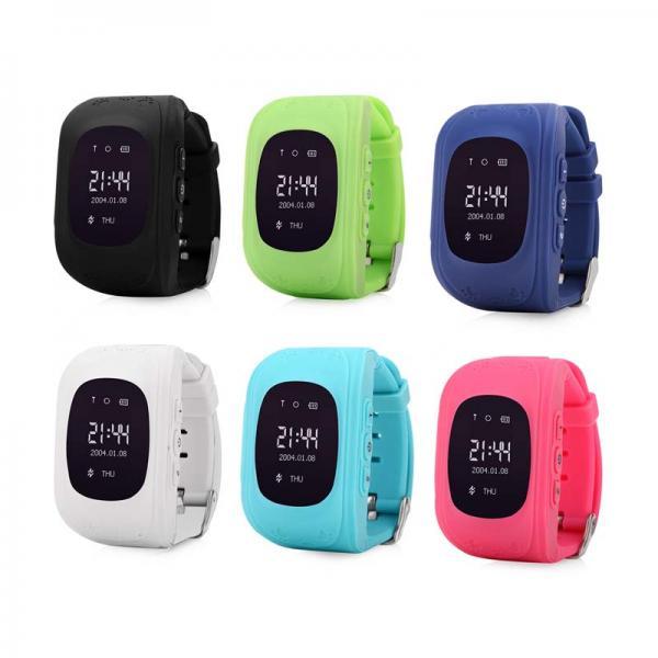 Ceas inteligent pentru copii WONLEX Q50 Negru cu GPS, telefon, si monitorizare spion 3
