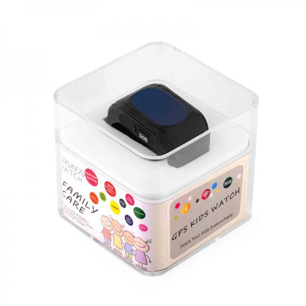 Ceas inteligent pentru copii WONLEX Q50 Negru cu GPS, telefon, si monitorizare spion 2