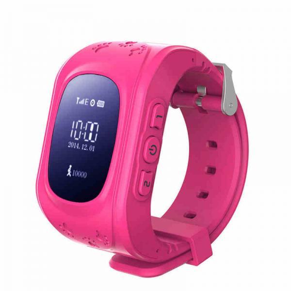 Ceas inteligent pentru copii WONLEX Q50 Roz cu GPS, telefon si monitorizare spion [0]