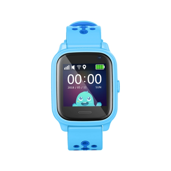 Ceas Inteligent cu GPS pentru copii WONLEX KT04 Albastru, rezistent la apa, localizare WiFI si monitorizare spion 2