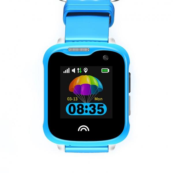 Ceas Inteligent cu GPS pentru copii WONLEX KT05 Roz, rezistent la apa, localizare WiFI si monitorizare spion 0