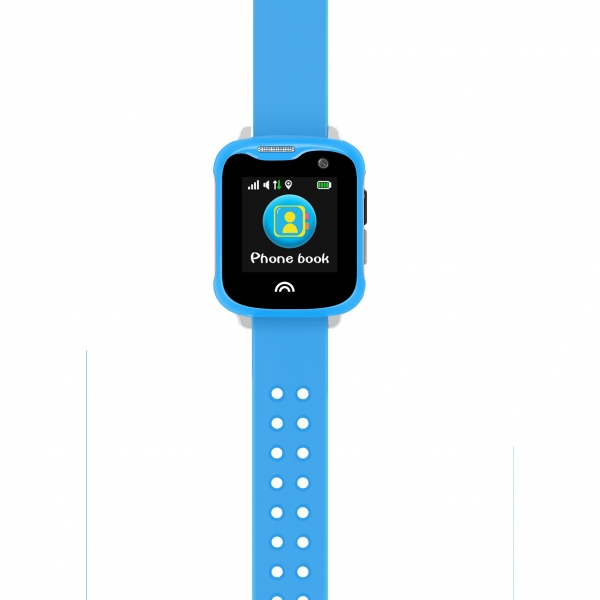Ceas Inteligent cu GPS pentru copii WONLEX KT05 Roz, rezistent la apa, localizare WiFI si monitorizare spion 1