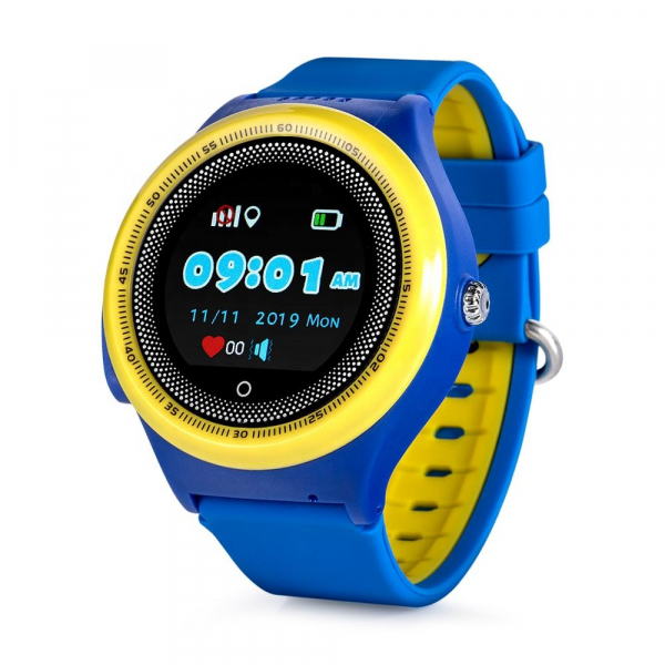 Ceas Inteligent cu GPS pentru copii WONLEX KT06 Albastru, rezistent la apa, localizare WiFI si monitorizare spion 0