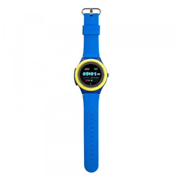 Ceas Inteligent cu GPS pentru copii WONLEX KT06 Albastru, rezistent la apa, localizare WiFI si monitorizare spion 2