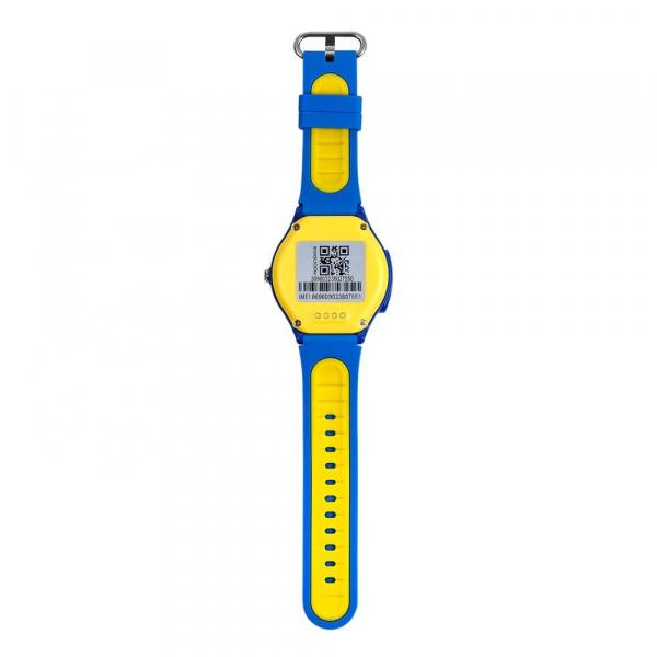 Ceas Inteligent cu GPS pentru copii WONLEX KT06 Albastru, rezistent la apa, localizare WiFI si monitorizare spion 3