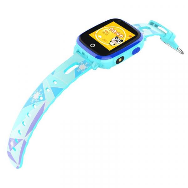 Ceas Inteligent cu GPS pentru copii WONLEX KT10 4G Albastru, apelare video, rezistent la apa, localizare WiFI si monitorizare spion 2