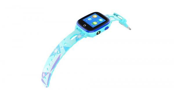 Ceas Inteligent cu GPS pentru copii WONLEX KT10 4G Albastru, apelare video, rezistent la apa, localizare WiFI si monitorizare spion 3