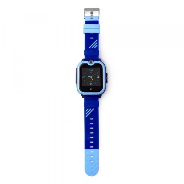 Ceas Inteligent cu GPS pentru copii WONLEX KT13 4G Albastru, apelare video, rezistent la apa, localizare WiFI si monitorizare spion 4