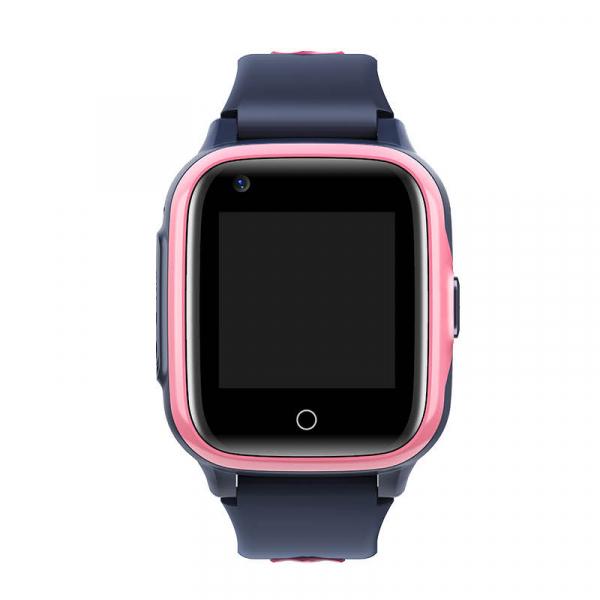 Ceas Inteligent cu GPS pentru copii WONLEX KT15 4G Roz, apelare video, rezistent la apa, localizare WiFI si monitorizare spion 1