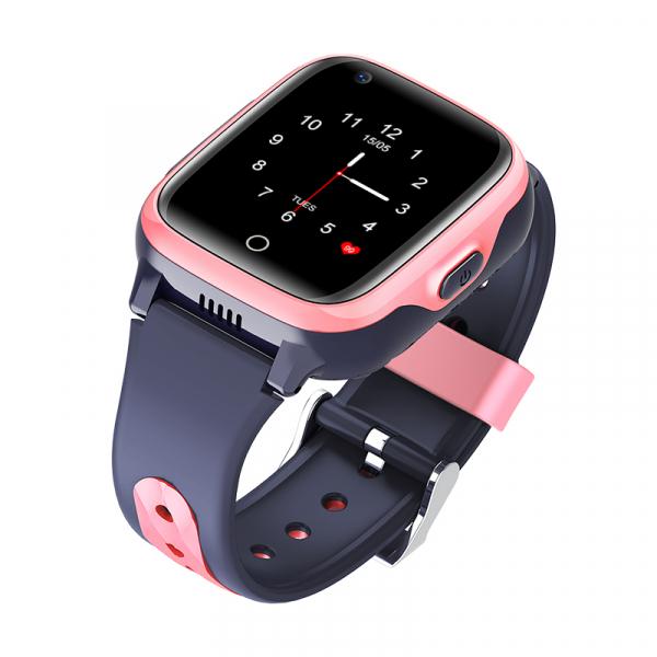 Ceas Inteligent cu GPS pentru copii WONLEX KT15 4G Roz, apelare video, rezistent la apa, localizare WiFI si monitorizare spion 3
