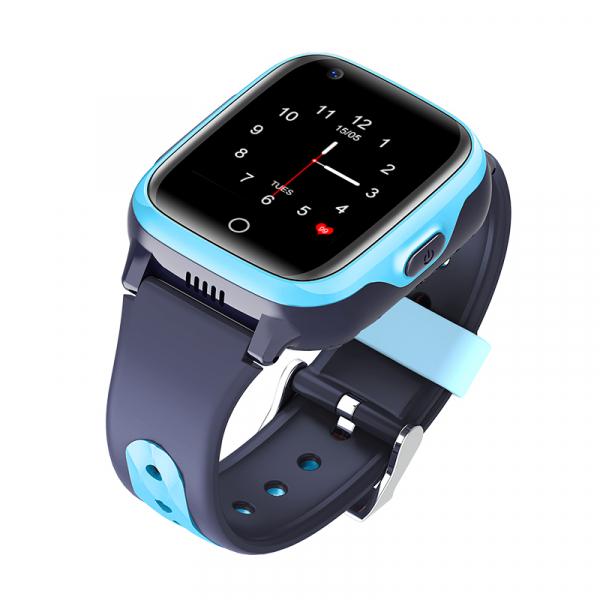 Ceas Inteligent cu GPS pentru copii WONLEX KT15 4G Albastru, apelare video, rezistent la apa, localizare WiFI si monitorizare spion 4