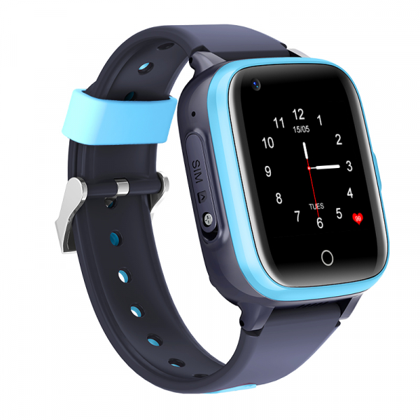 Ceas Inteligent cu GPS pentru copii WONLEX KT15 4G Albastru, apelare video, rezistent la apa, localizare WiFI si monitorizare spion 7